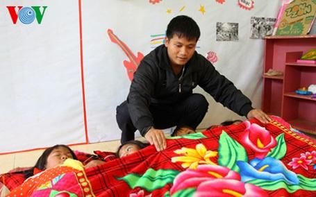 Chăm sóc từng giấc ngủ cho trẻ buổi trưa