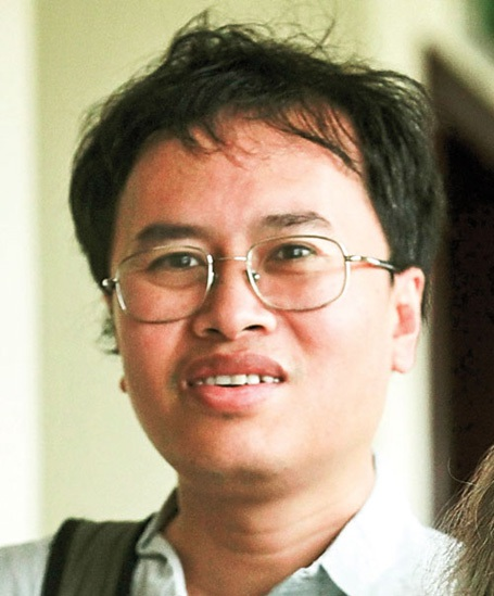 Các nhà khoa học Đàm Thanh Sơn, Nguyễn Trọng Hiền, Lưu Lệ Hằng. (Ảnh do nhân vật cung cấp)