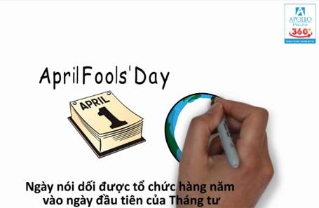 Các bạn xem video về ngày Cá tháng Tư