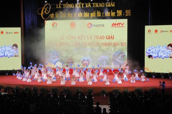 Lễ vinh danh 35 thí sinh vòng chung kết CPVM được truyền hình trực tiếp trên ANTV