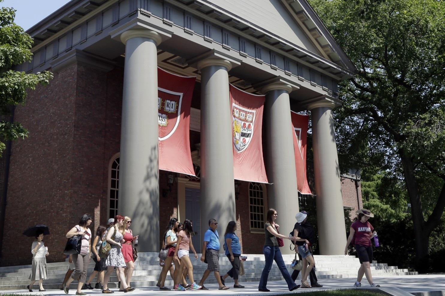 Khuôn viên Trường đại học Harvard (bang Massachusetts, Mỹ)