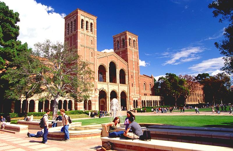 Khuôn viên trường ĐH Bang California nơi học viên lưu trú và hoạt động tại Mỹ