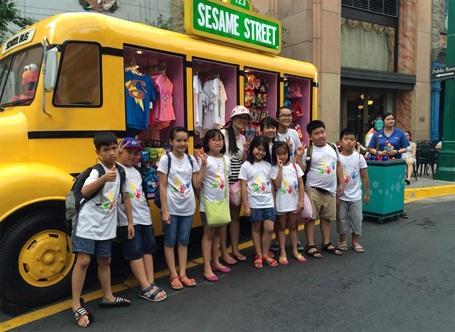 Trại hè quốc tế do CEC tổ chức tại Singapore 2014