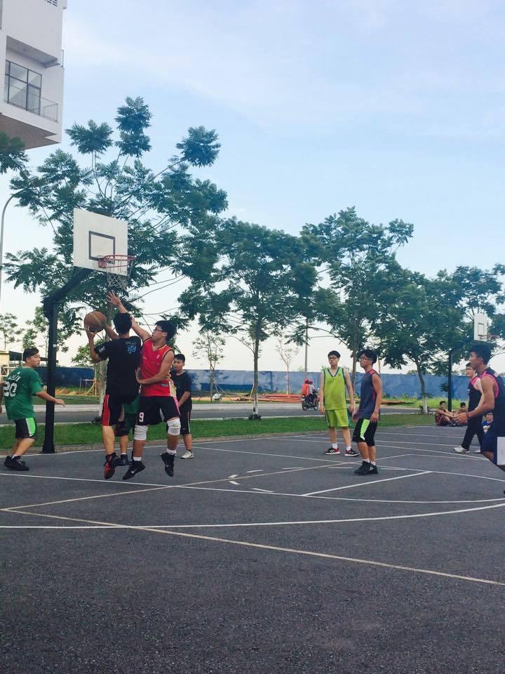 Sân tập bóng rổ tại trường THPT FPT