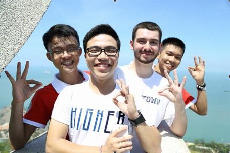 Sinh viên UEF có cơ hội tham gia nhiều hoạt động giao lưu quốc tế hữu ích
