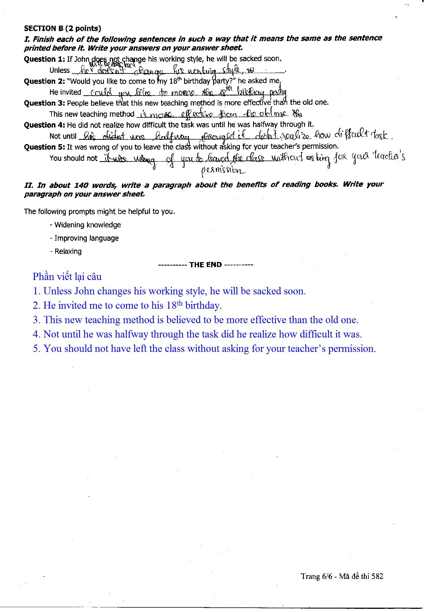 Nhận định về đề thi Tiếng Anh, cô Nguyệt Ca, giáo viên Hocmai.vn cho biết: