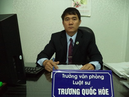 Luật sư Phạm Thanh Bình
