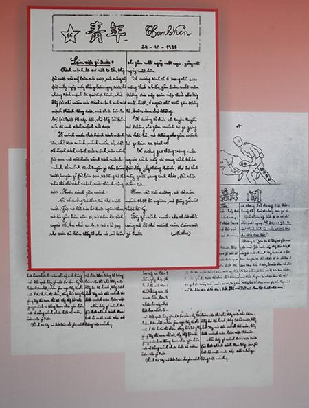 Nhiều bút tích của chủ tịch Hồ Chí Minh lần đầu được công bố trước công chúng