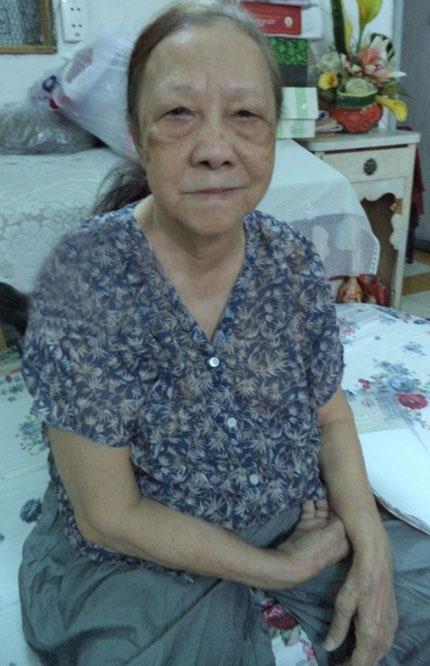 Bà Chế Thanh Vân kể lại bí mật về kho báu. (Ảnh: Internet)
