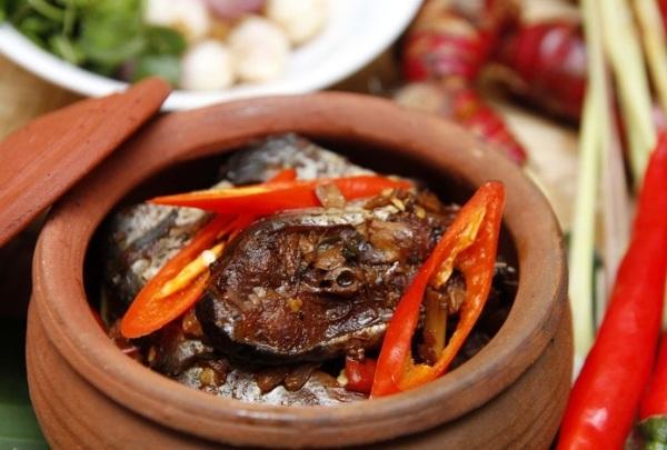 Món cá kho cổ truyền của làng Vũ Đại có từ rất lâu đời. (Ảnh: Internet)