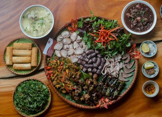 Món ăn Tây Bắc đậm vị hơn khi có hạt dổi. (Ảnh: hatdoirung.net)