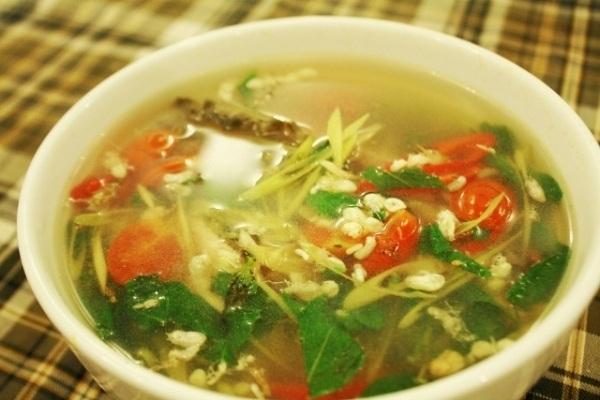 Món canh dân dã, chứa đựng bao tình cảm của người dân Quảng Bình.