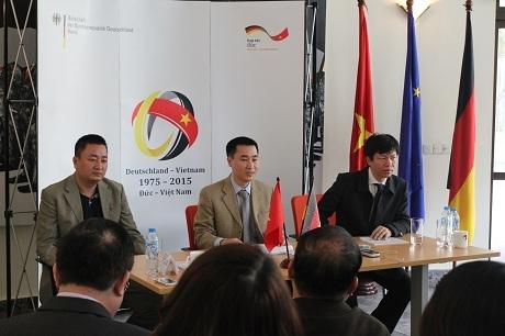 Quan hệ chính trị Việt-Đức khăng khít hơn bao giờ hết