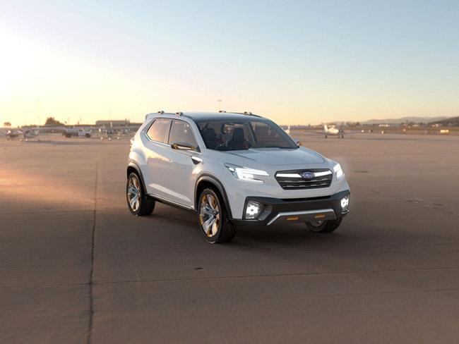 Subaru hiện thực hóa Viziv concept - 11