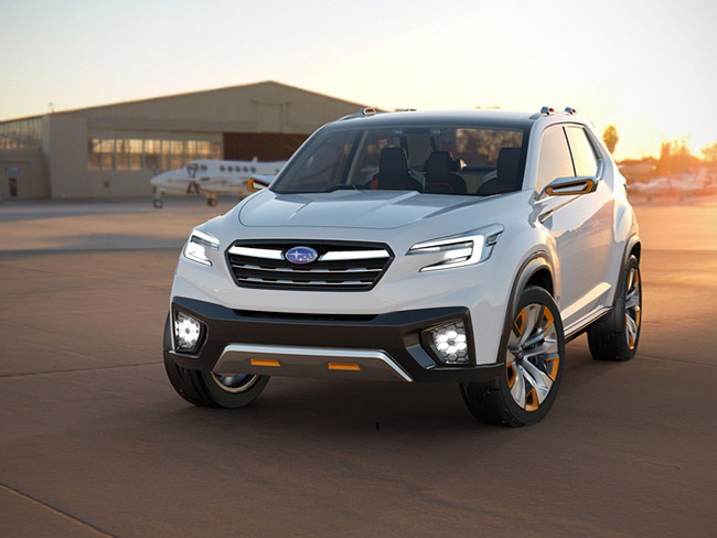 Subaru hiện thực hóa Viziv concept - 1