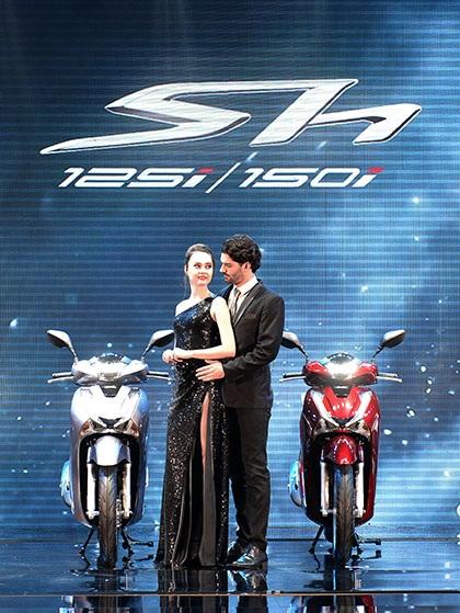 Honda SH được trang bị thêm phanh ABS - 2