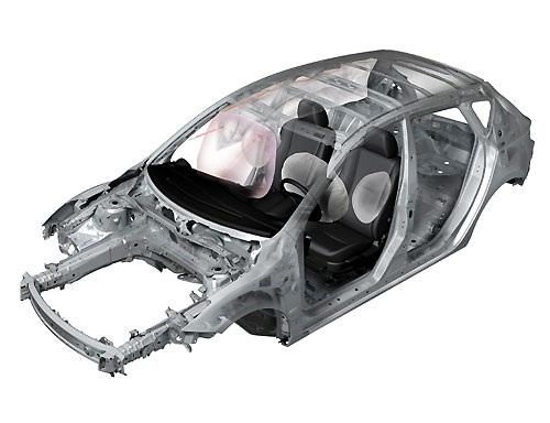 Hệ thống túi khí trên Mazda3