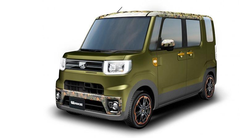 """Daihatsu """"chơi sang"""" với 11 mẫu xe độ hướng tới Tokyo Auto Salon - 10"""