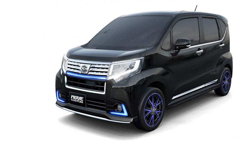 """Daihatsu """"chơi sang"""" với 11 mẫu xe độ hướng tới Tokyo Auto Salon - 2"""
