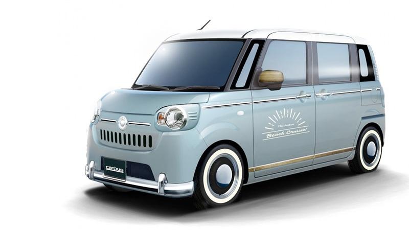 """Daihatsu """"chơi sang"""" với 11 mẫu xe độ hướng tới Tokyo Auto Salon - 4"""