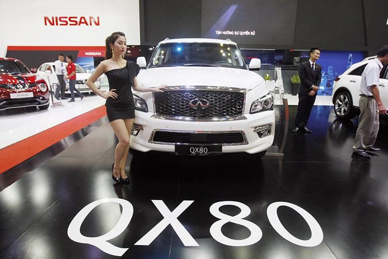 Giá trị chung của ôtô nhập khẩu vào Việt Nam vẫn ở mức cao.