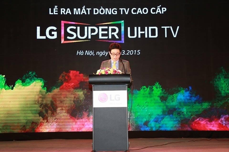 Ông Kim Young Lak, Tổng Giám đốc LG Electronics Vietnam.