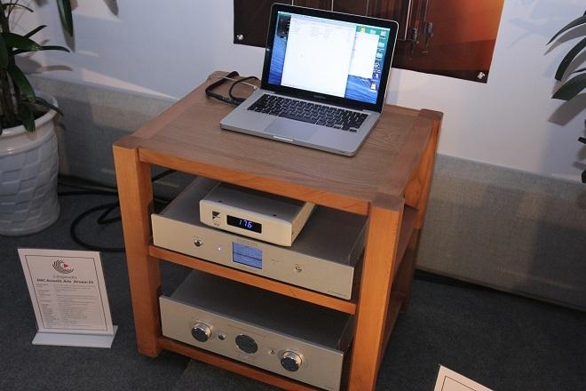 Hệ thống chơi nhạc qua laptop và DAC Ayre QB9 DSD