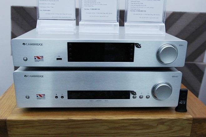 Dòng sản phẩm mới CX của Cambridge Audio