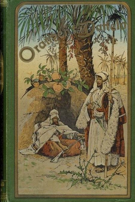 Bìa tác phẩm Orangen und Datteln xuất bản năm 1893