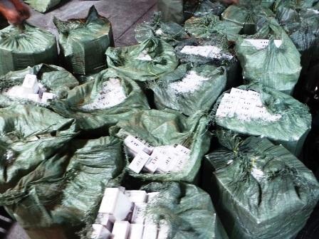Số thuốc lá lậu bị bắt giữ