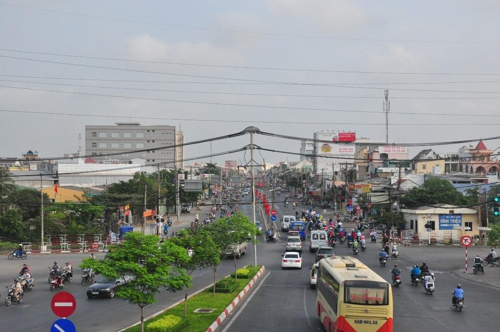 Quốc lộ 13 đoạn qua quận Thủ Đức, TPHCM