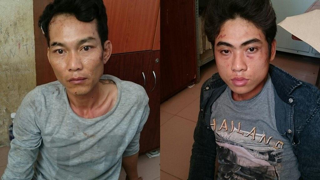 Hai tên cướp tại cơ quan công an
