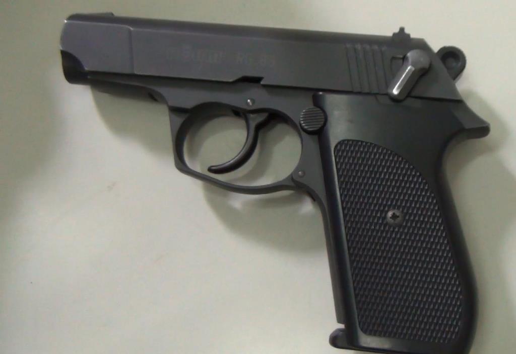 Khẩu súng mà ông Hòa sử dụng để đe dọa chị Vy