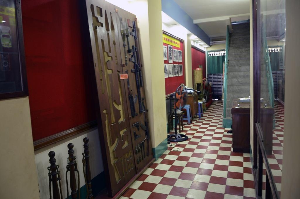 Thăm kho chứa 3 tấn vũ khí bí mật của Biệt động Sài Gòn