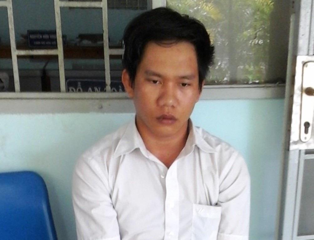 Nguyễn Cao Trí tại cơ quan công an