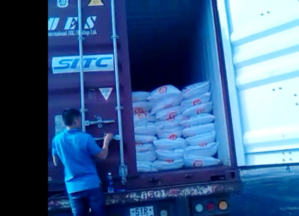 Lô hàng 600 bao đường, tổng trọng lượng 30 tấn không có hóa đơn chứng từ
