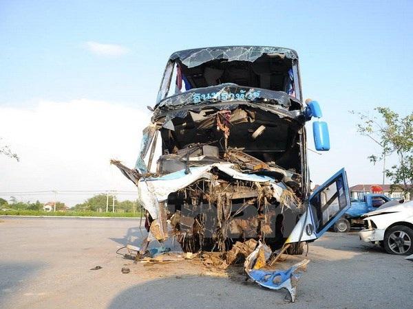 5 người Việt bị thương trong vụ lật xe du lịch ở Thái Lan - 2