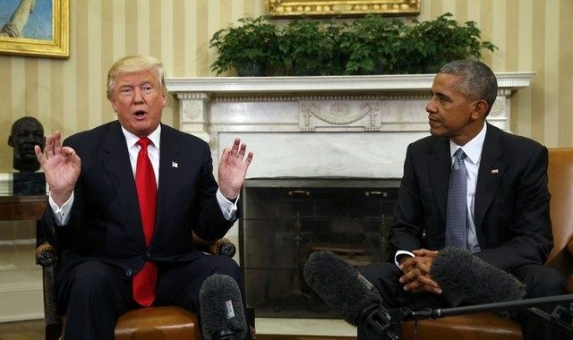 Nhưng sau khi ông Trump đắc cử, ông Obama đã kêu gọi người Mỹ đoàn kết để ủng hộ người kế nhiệm lãnh đạo nước Mỹ.