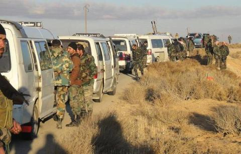 Quân đội Syria đang tập trung binh lực lớn để tái chiếm Palmyra