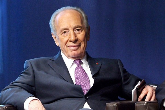 Cố Tổng thống Shimon Peres (Ảnh: Haaretz)