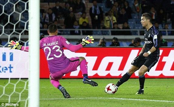 C.Ronaldo ấn định thắng lợi 2-0 ở cuối trận