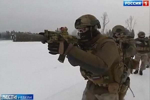 Nga điều lực lượng đặc nhiệm tinh nhuệ tham gia chiến đấu ở Syria