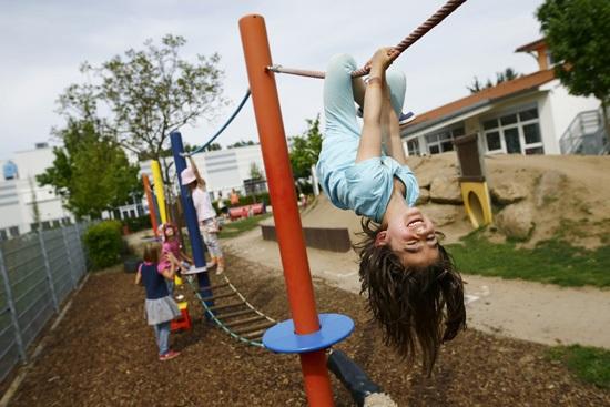 Các trường mầm non tại Phần Lan luôn đảm bảo trẻ có nơi vui chơi thoải mái nhất.