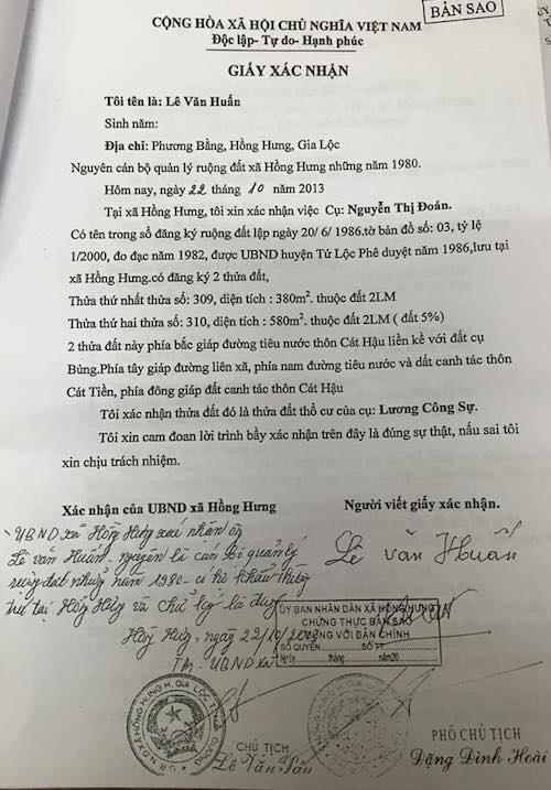 Hải Dương: Đề nghị UBND huyện Gia Lộc khẩn trương giải quyết quyền lợi cho người dân - Ảnh 2.