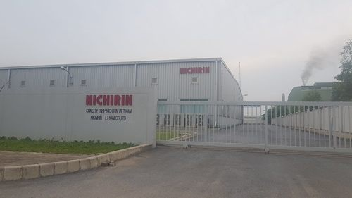 Trụ sở Công ty Nichirin Việt Nam tại KCN Quang Châu.