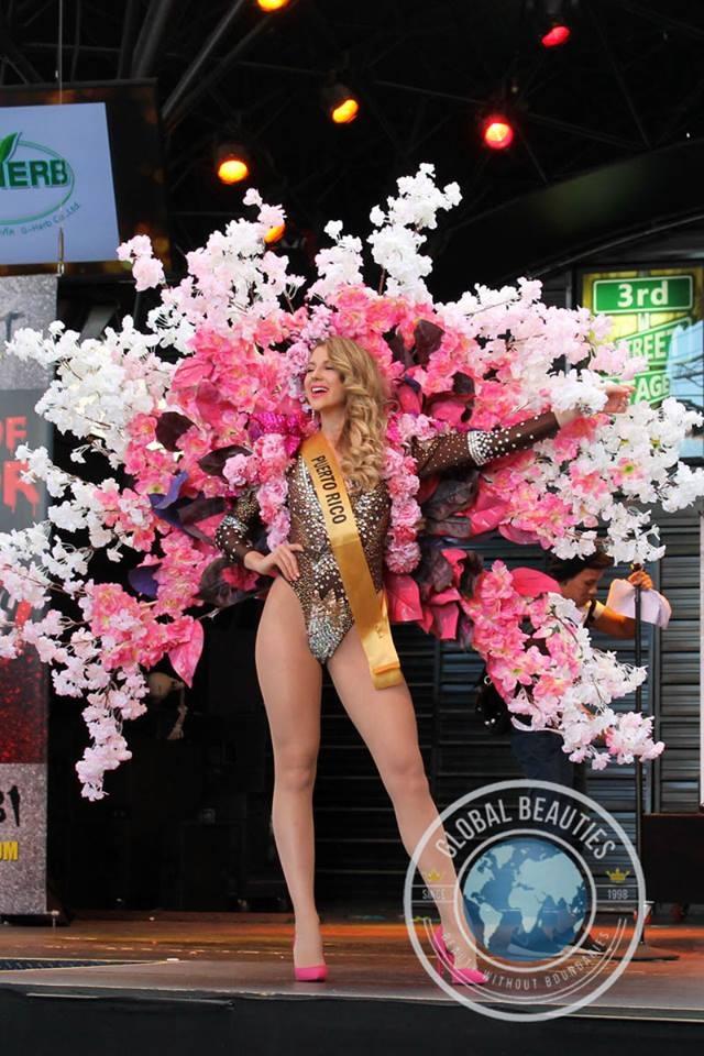 Người đẹp Hoa hậu hòa bình thế giới 2016 rực rỡ sắc màu quốc phục - 18