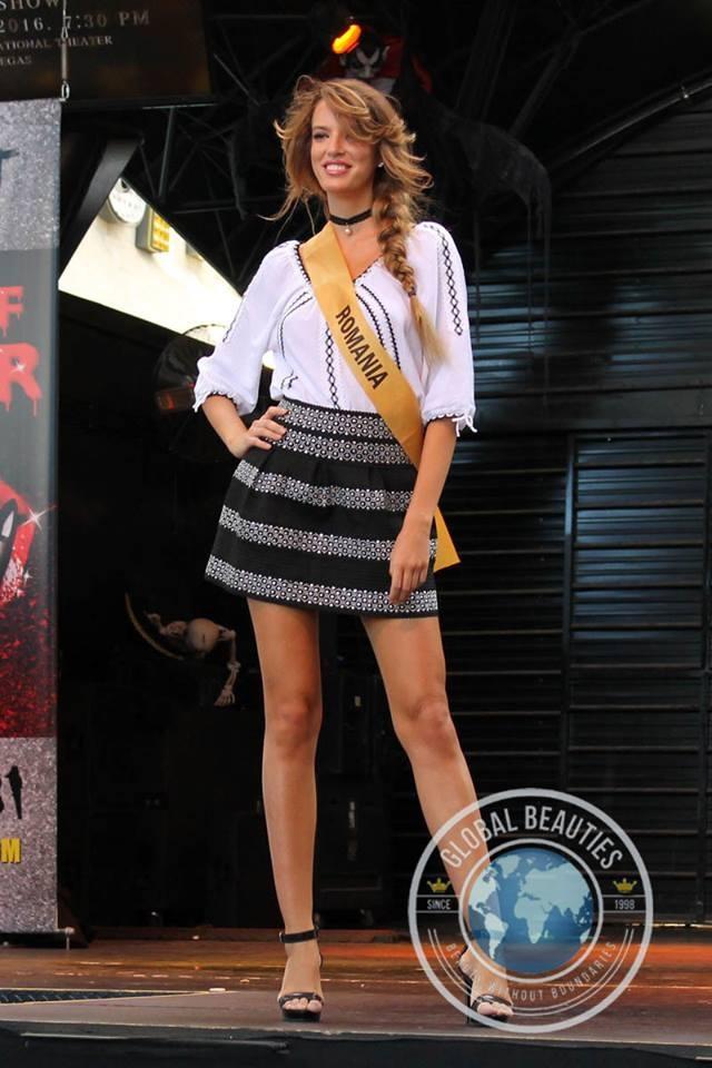 Người đẹp Hoa hậu hòa bình thế giới 2016 rực rỡ sắc màu quốc phục - 23