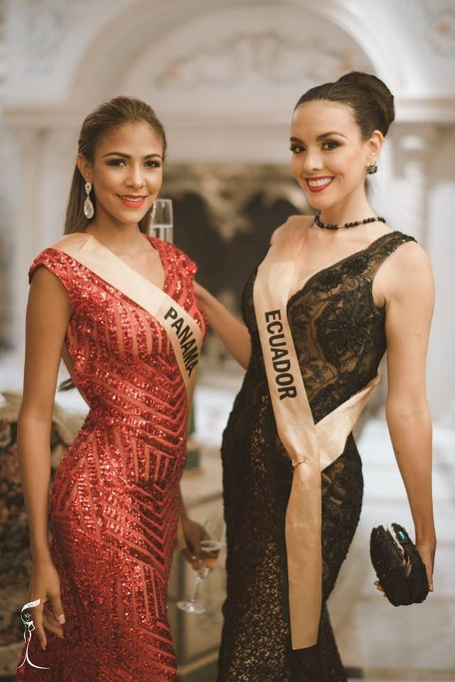 Nguyễn Thị Loan khoe vai trần gợi cảm cùng thí sinh Hoa hậu hòa bình thế giới - 32