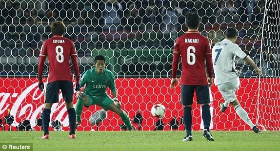 C.Ronaldo thực hiện thành công quả phạt đền ở phút 59