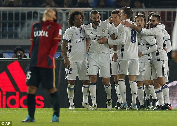 Real Madrid chính thức vô địch FIFA Club World Cup 2016